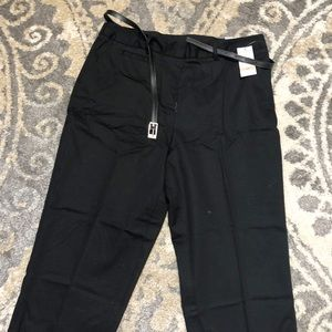 NWT! **STUDIO WORKS** BLACK SLACKS